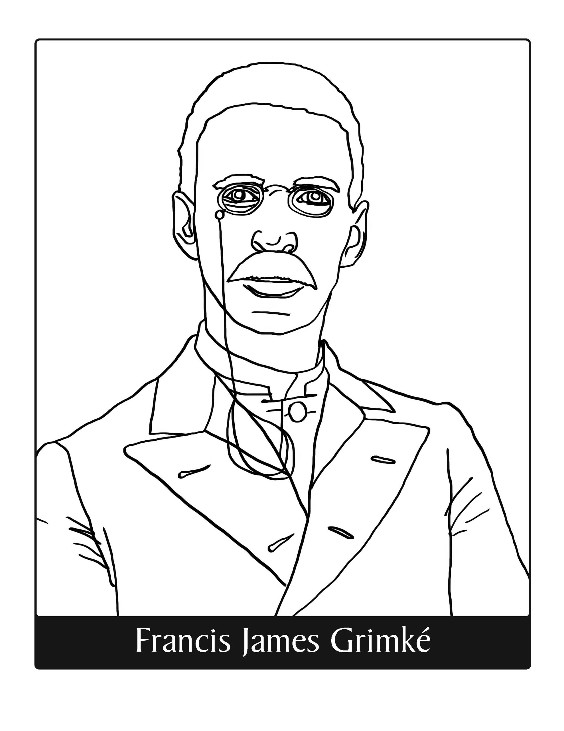 30 Free Coloring Pages To Celebrate Black Faith Leaders
