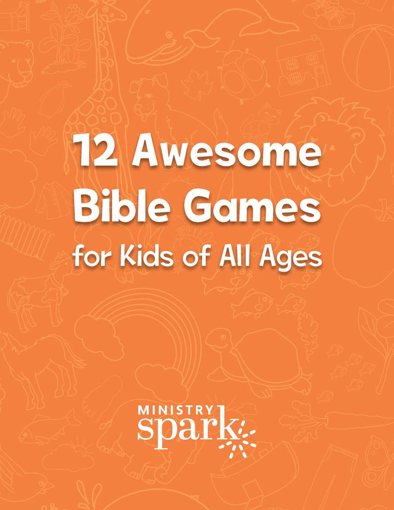 12 Awesome Bible Games for Kids of All Ages cover