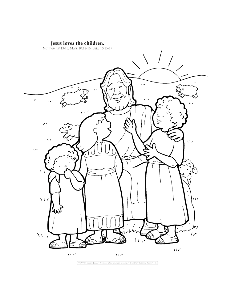 Ascension Coloring Page - Coloring Home | 971x750
