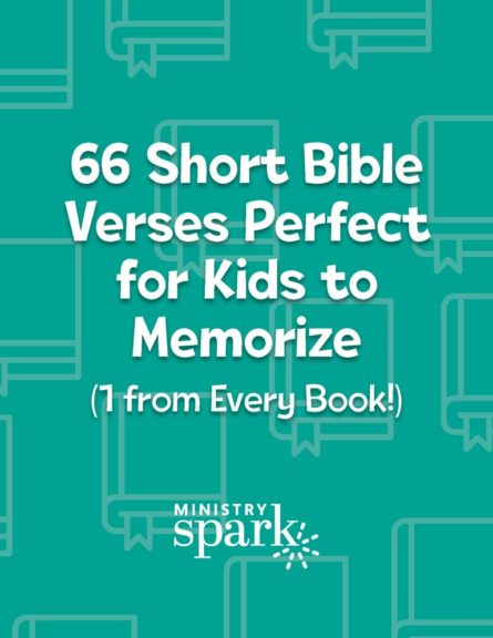 66 Short Bible Verses Perfect for Kids to Memorize cover