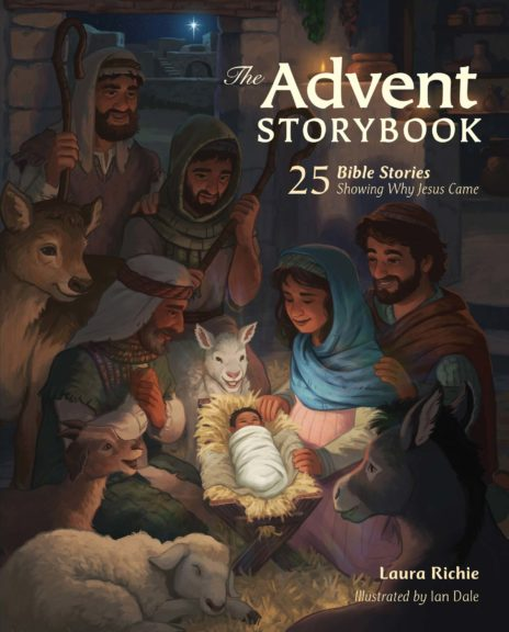 The Advent Storybook Cover