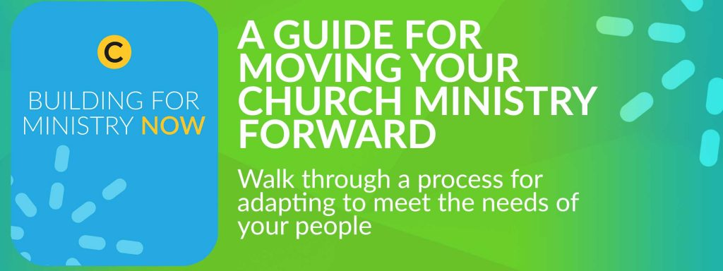 building for ministry now