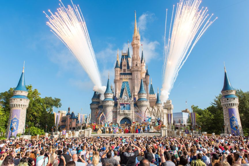 Walt Disney World Resort Celebrates 45th Anniversary to Colorful Fanfare