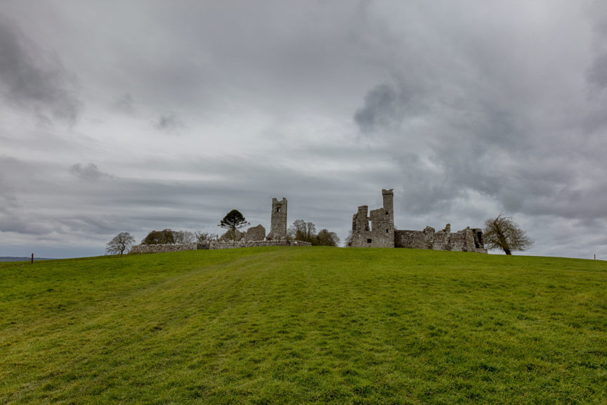 Hill of Slane famous for St Patrick