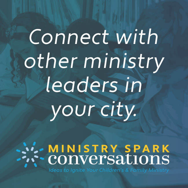 Ministry Spark Conversations banner