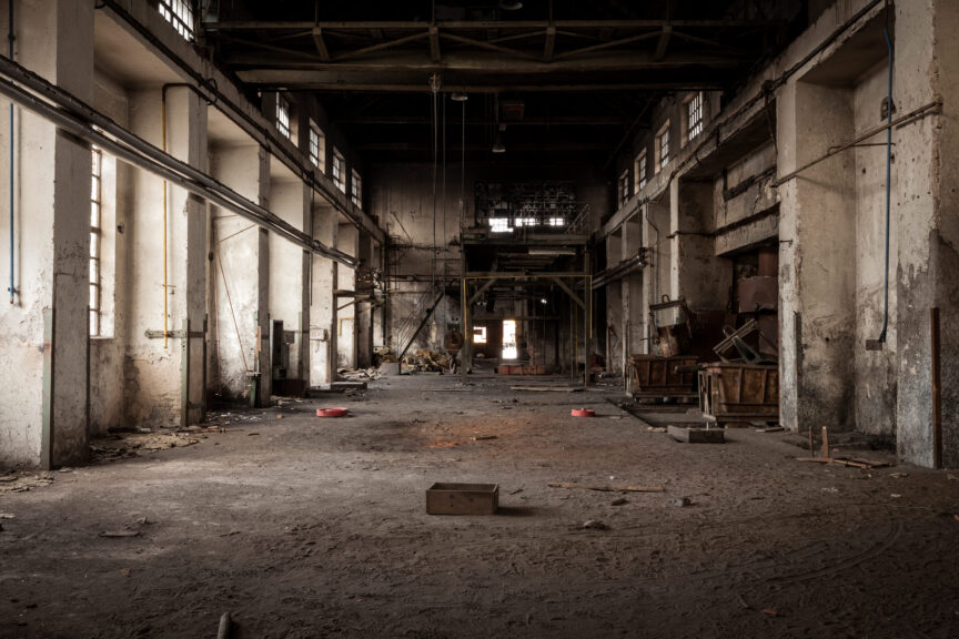 Old-abandoned-industrial-building