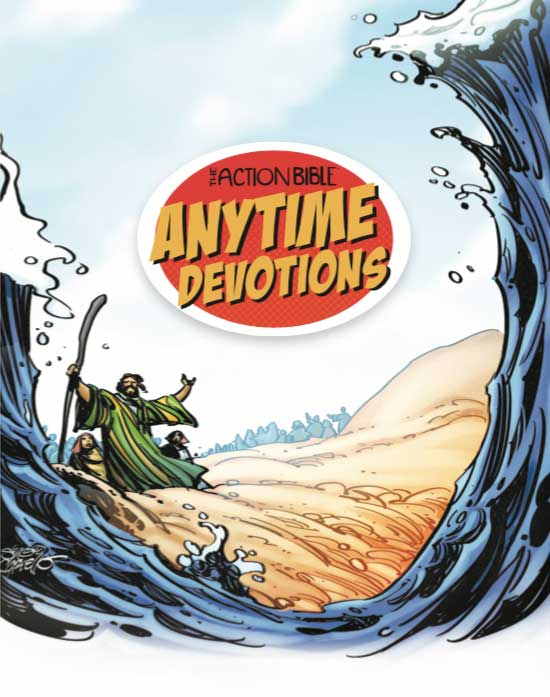 The Action Bible Anytime Devotions