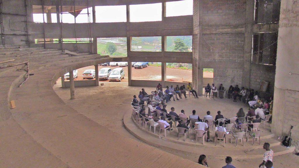 Uganda partially finished church