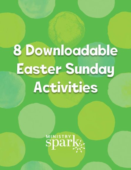 8 Downloadable Easter Sunday Activities cover