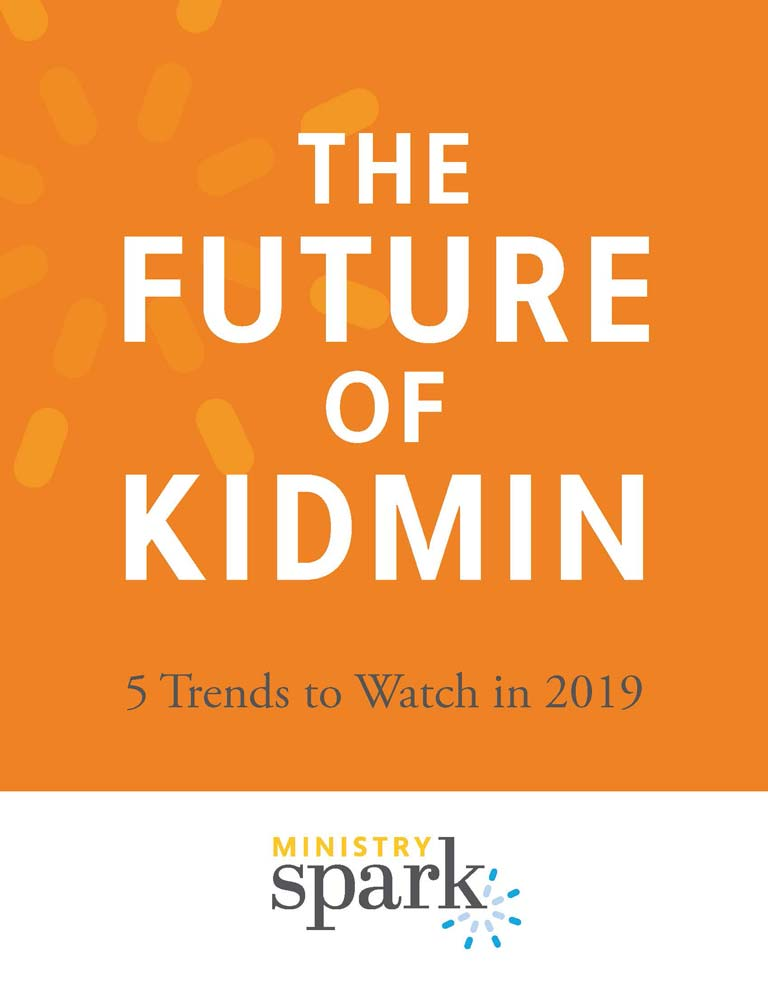 The Future of Kidmin cover