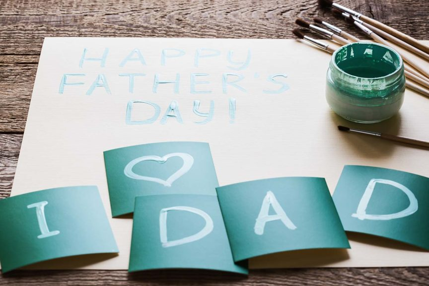 happy father's day card gift