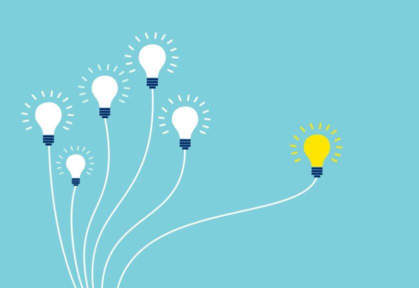 light-bulbs-blue-background-concept