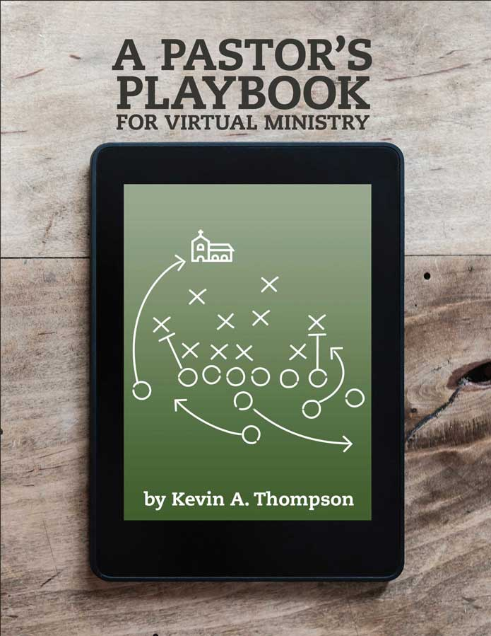 A Pastor's Playbook cover