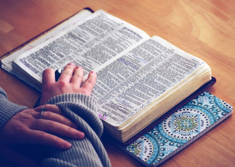 reading-bible-on-table