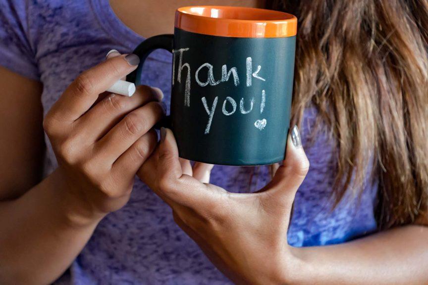 thank you mug church volunteer appreciation