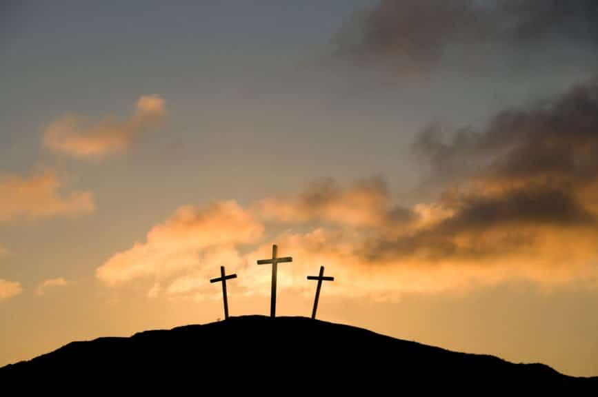 Three Crosses on Good Friday