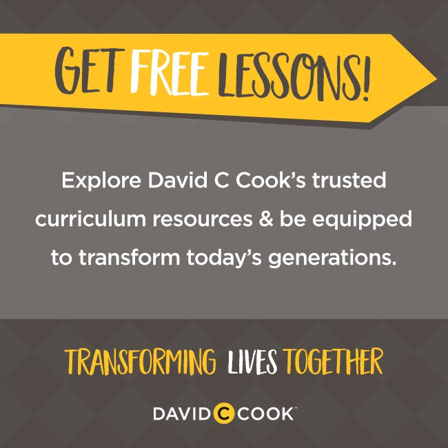 David C Cook free curriculum lessons