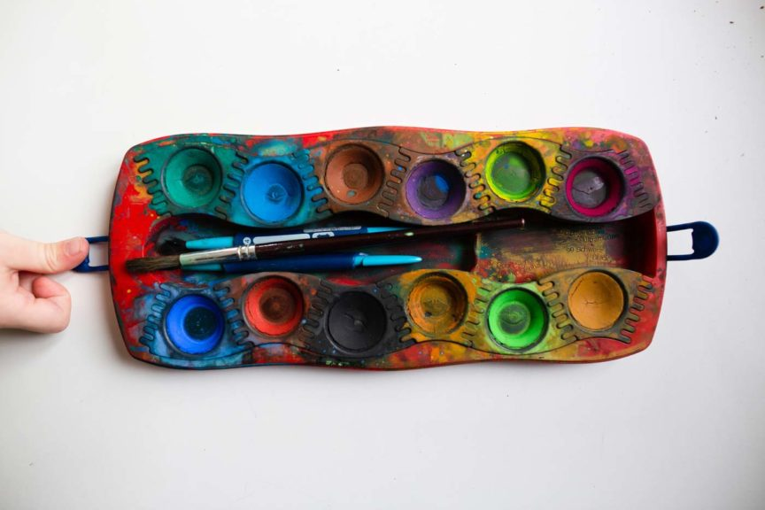 water-color-tray-multiple-colors