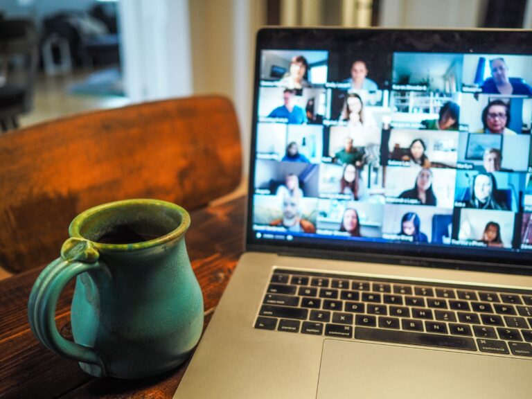 zoom-meeting-computer-coffee-mug-kitchen